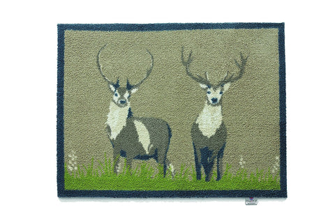 Hug Rug - Deer 1 Design - Highly Absorbent Indoor Barrier Mat - Available in 2 sizes Mat and Long Runner