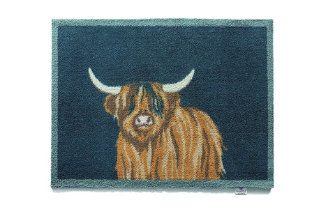 Hug Rug - Highland 1 Design - Highly Absorbent Indoor Barrier Mat - Available in 2 sizes Mat and Long Runner