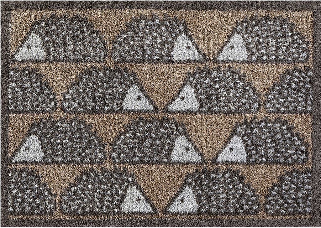 Turtle Mat - Spike Hedgehog Design -  Multi-Grip backing 60X85cm