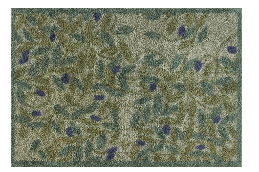 Turtle Mat Olive Design Highly Absorbent Indoor Mat  Multi-Grip backing - 2 Sizes available Mat & Runner