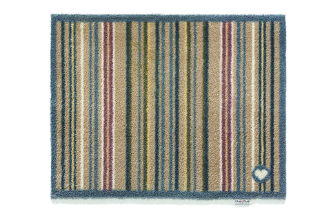 Hug Rug - Stripe 26 Design -Highly Absorbent Indoor Barrier Mat - 2 Sizes Available