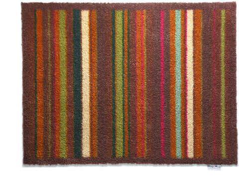 Hug Rug - Stripe 70 Design  65x85cm - Highly Absorbent Indoor Barrier Mat