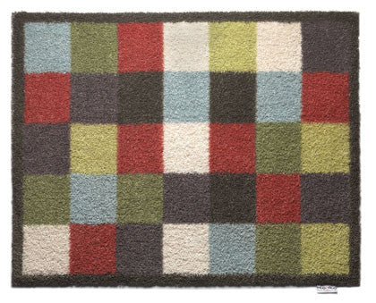 Checked Hug Rug