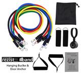RezistBand Strength Pull Rope Band Set - Hanging Buclke