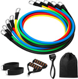 RezistBand Strength Pull Rope Band Set - Carabiner shackle