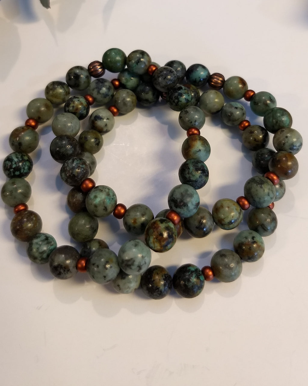 African Turquoise Bracelet