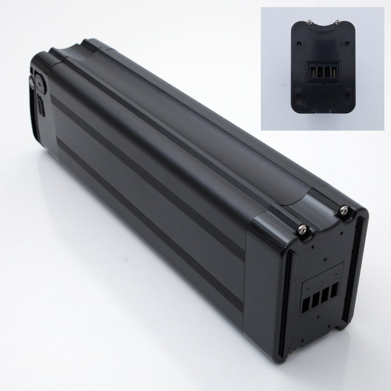36V 15.4Ah Generic Silver Fish - Black - Bottom Discharge - Lithium Ion Battery