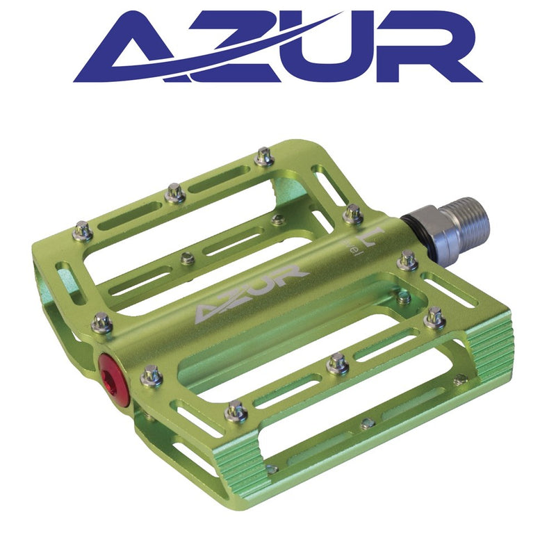 Azur Dual Sealed Bearing Pedal - Green