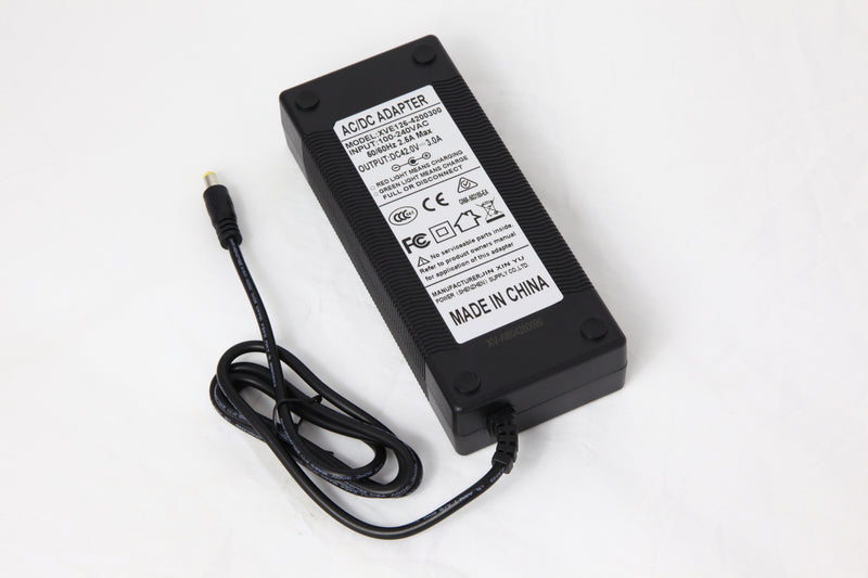 42V Charger for 36V Battery ( 3 Amp - 5.5mm DC plug)
