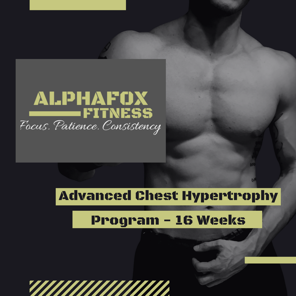 Advanced Chest Hypertrophy Program - 16 weeks