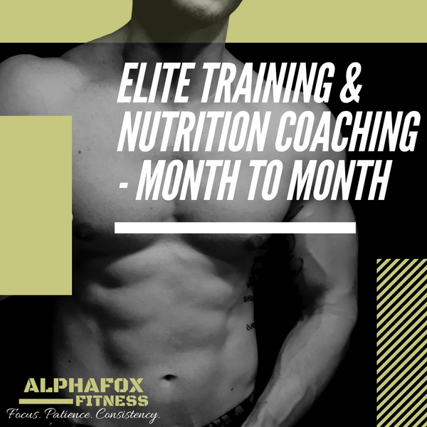 Elite Training & Nutrition Program - Month-To-Month