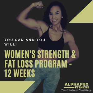 Women's Strength & Fat Loss Program - 12 Weeks