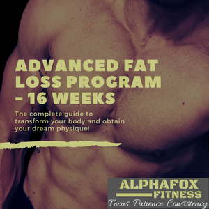 Advanced Fat Loss Program - 16 Weeks