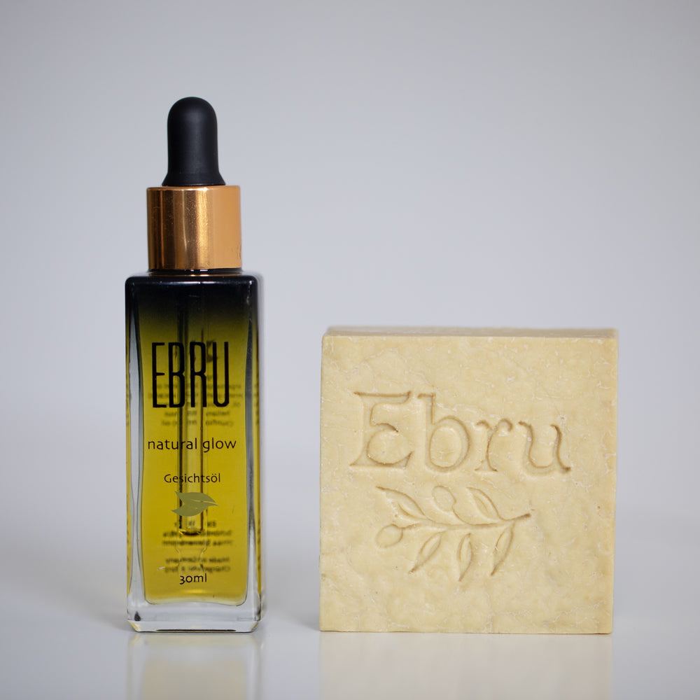 Better Together - natural glow oil & ebru seife