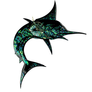 Marlin Paua Stylised Clock