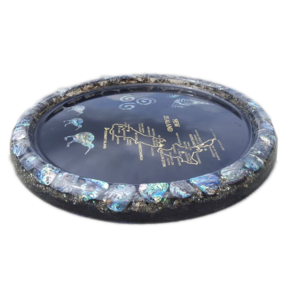 Paua Platter NZ Designs