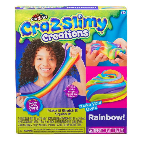 CRAYOLA-Z-Slimy Rainbow Slime Maker Set