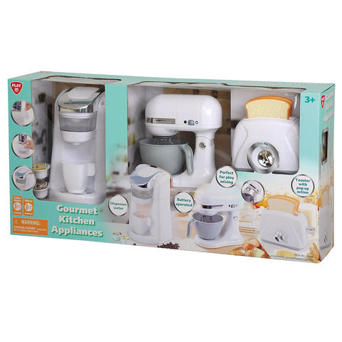 Image of Playgo Kid's Gourmet Kitchen Coffee Maker & Toaster Set