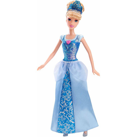 Image of DISNEY PRINCESS SPARKLING PRINCESS CINDERELLA DOLL-CFB72