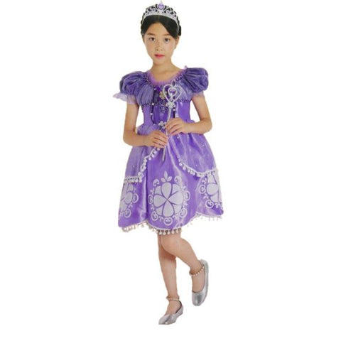 Princess Sofia Costume with Accessories