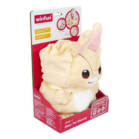 Winfun Smily Play Blanket Cushion Bunny
