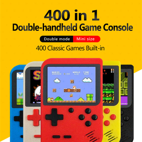 Classic 400-in-1 Digital Game Console - TZP1