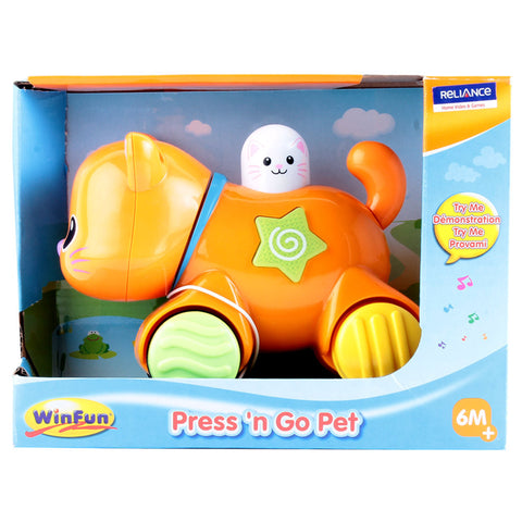 Image of Winfun - Press and Go Kitten