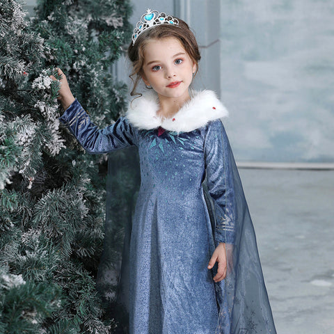 Image of Frozen II - Princess Elsa Costume - STO