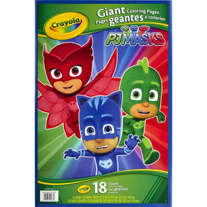 Crayola PJ Masks Giant Coloring Pages