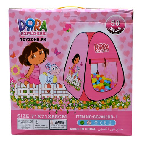 Image of Dora Tent House With 50 Balls