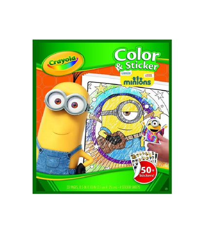 Image of Crayola | Minnion Color & Sticker Set 50 pcs-045857