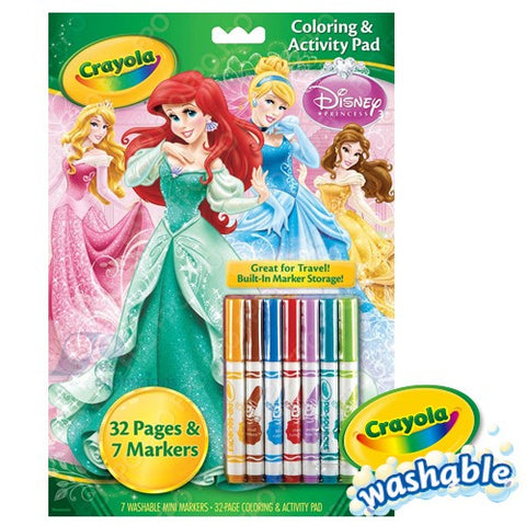 Crayola Coloring & Activity Pad Set