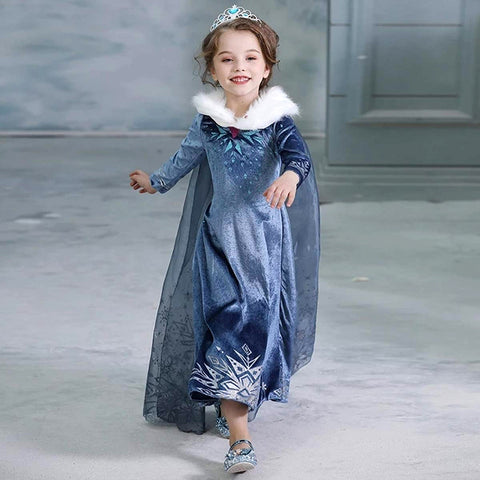 Frozen II - Princess Elsa Costume