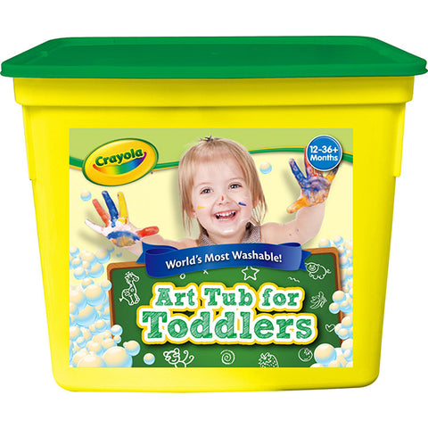 Image of Crayola Art Tub For Toddlers