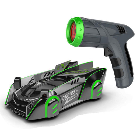 Laser-Guided Real Wall Climbing Car