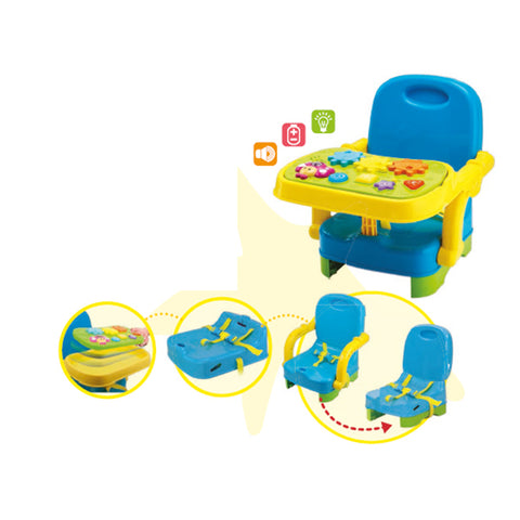 WinFun Seat booster with a game board
