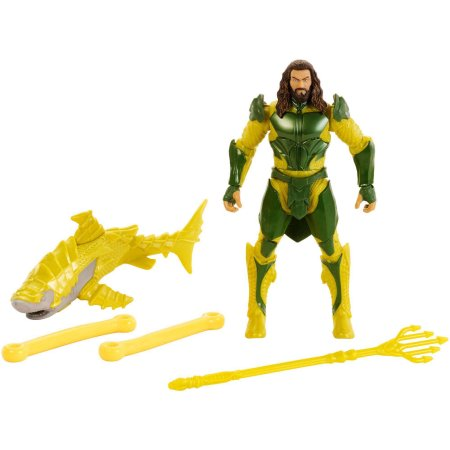 Image of Justice league Aquaman figure with Power Slingers