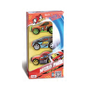 MAISTO Nitro Pack Of 3 YT-11386