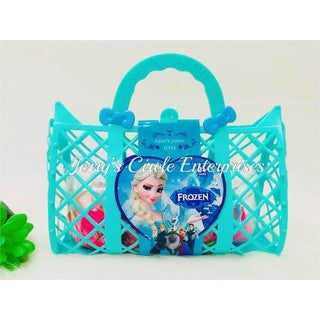 Image of Girls Fashion Frozen Bag in Pink - STO