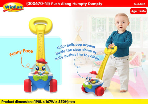 Winfun Push Along Humpty Dumpty