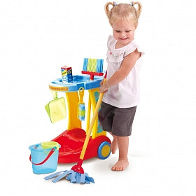 Play Go Little Housekeeping Trolley 3331