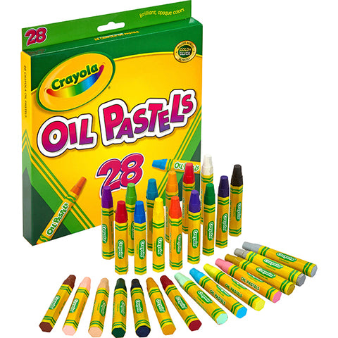 Image of Crayola Jumbo-sized Oil Pestels-524628