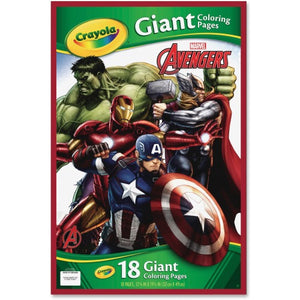 Crayola Marvel Avengers Giant Coloring Pages-040196