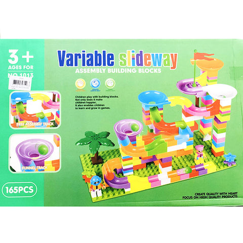 Variable Slideway Maze Block