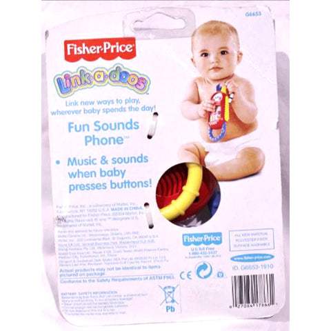 Image of Fisher Price Phone with Funny Sounds
