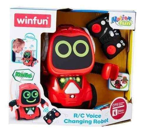 Winfun RC Voice Changing Smart Musical Robot