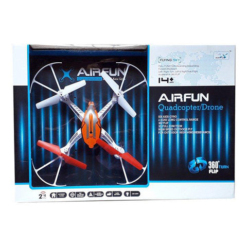Image of 2.4G 6-Axis Gyro Airfun Quad-copter