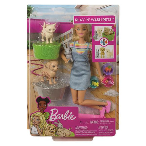 Image of Barbie Fall Feat Pet Playset
