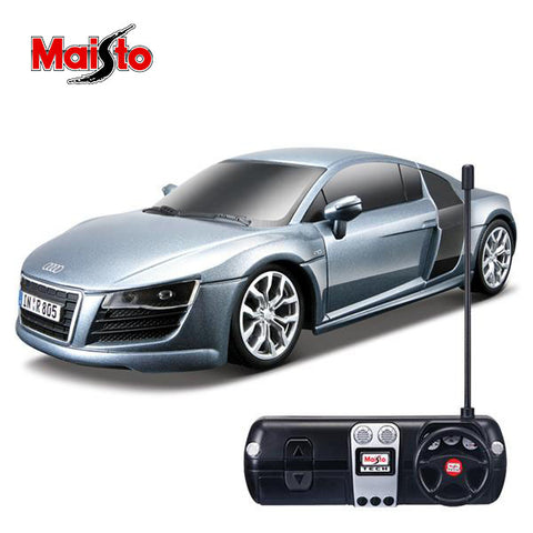 Image of Maisto 2009 Audi R8 V10 Rc Car 1:24 Scale-YT-81064