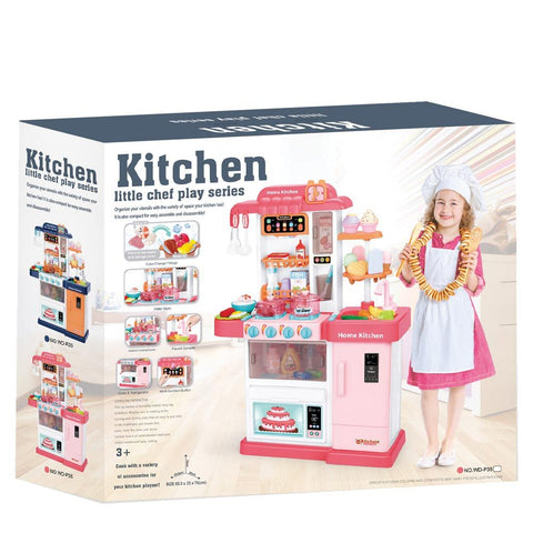 Little Chef Play Series Mist Kitchen with Running Water